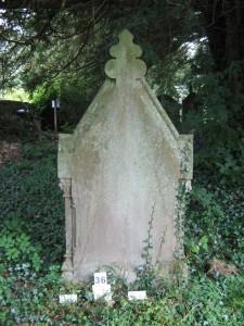 Back of Grave