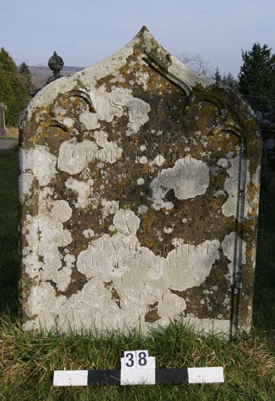 West side inscription