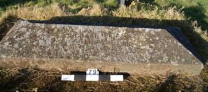 triangular stone slab