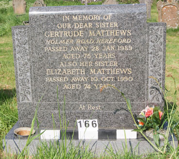 Gertrude Matthews