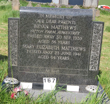 Bryan & Mary Matthews