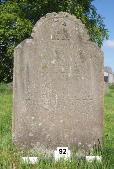 east side inscription