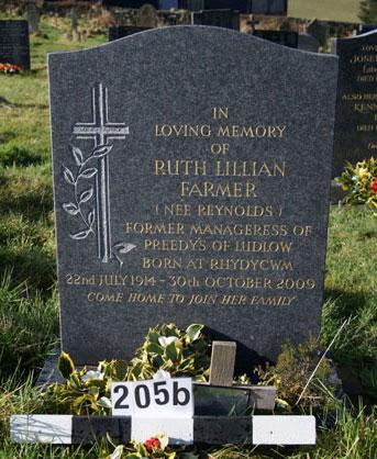 205B Ruth Farmer