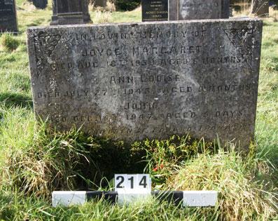 214 Joyce Margaret