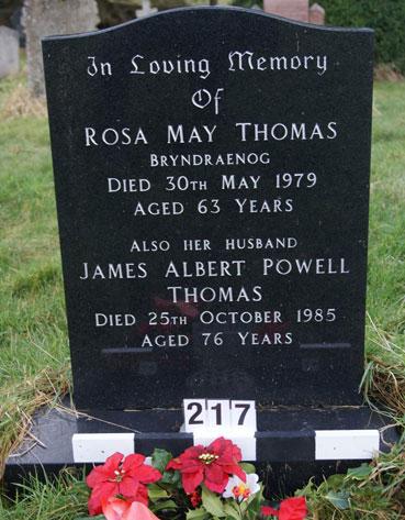 Rosa May Thomas
