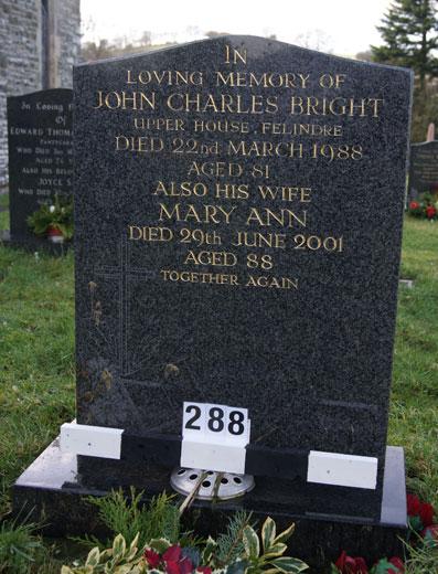 John & Mary Bright