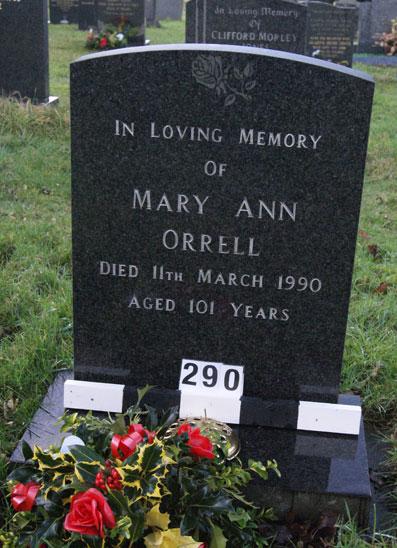 Mary Ann Orrell