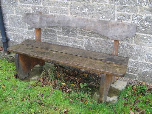 Jonathan Sea memorial bench
