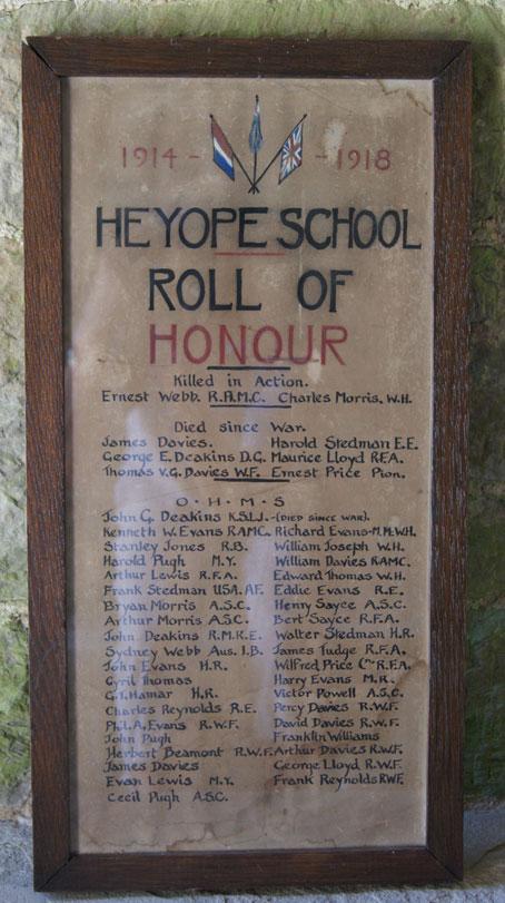 Heyope School