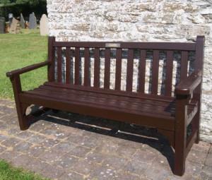 Winston Williams memorial bench