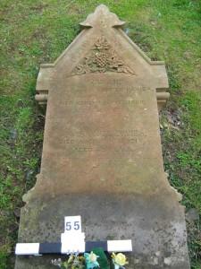 Flattened Grave