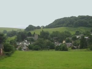 Llangunllo Village