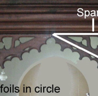 doorhead tracery