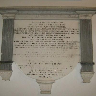 J Pritchard Memorial