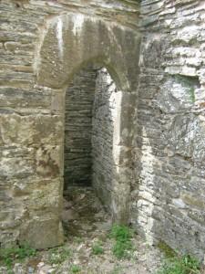 Arched Doorway Inside Mound