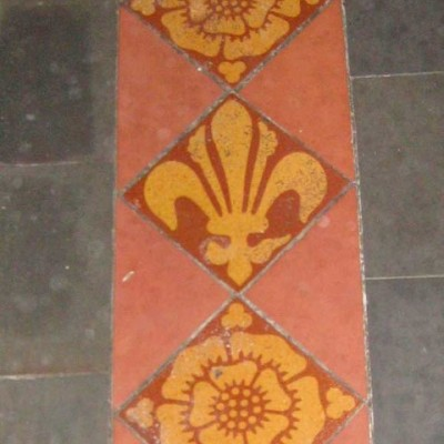 Chancel tiles